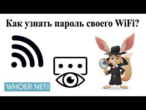 Узнаем пароль от своего wifi